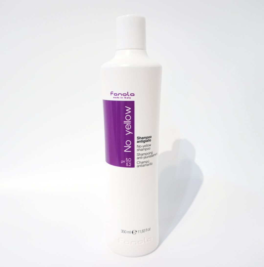 Fanola Shampoo with white background